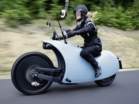 Electric Motor Bikes of The Future!